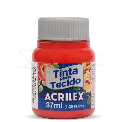 Tinta-para-Tecido-Fosca-37ml-Acrilex-508-Vermelho-Escarlate-3195