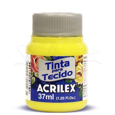 Tinta-para-Tecido-Fosca-37ml-Acrilex-504-Amarelo-Limao-3214
