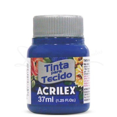 Tinta-para-Tecido-Fosca-37ml-Acrilex-502-Azul-Cobalto-3213