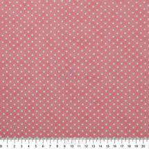 Tecido-Tricoline-Estampado-Infantil-Estrelinhas-Coral-Escuro-Fabricart-5911