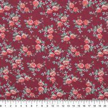 Tecido-Tricoline-Estampado-Floral-Petit-Floral-Nashville-Vinho-Fabricart-5929