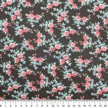 Tecido-Tricoline-Estampado-Floral-Petit-Floral-Nashville-Marrom-Fabricart-5926