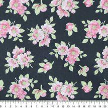 Tecido-Tricoline-Estampado-Floral-Jardim-Preto-Rose-Fabricart-5940