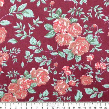 Tecido-Tricoline-Estampado-Floral-Grand-Floral-Nashville-Vinho-Fabricart-5928