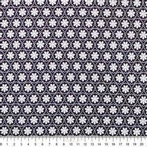 Tecido-Tricoline-Estampado-Floral-Flores-Silvestres-Preto-Fabricart-5941