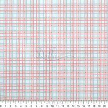 Tecido-Tricoline-Estampado-Infantil-Xadrez-Rosa-Fabricart-5934