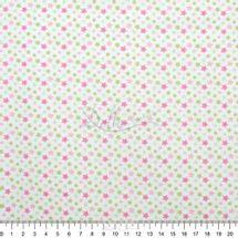 Tecido-Tricoline-Estampado-Infantil-Estrelinhas-Tricolores-com-Rosa-Fabricart-5918