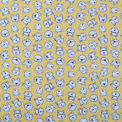 Tecido-Tricoline-Estampado-Infantil-Rostinho-Amarelo-Fabricart-5950