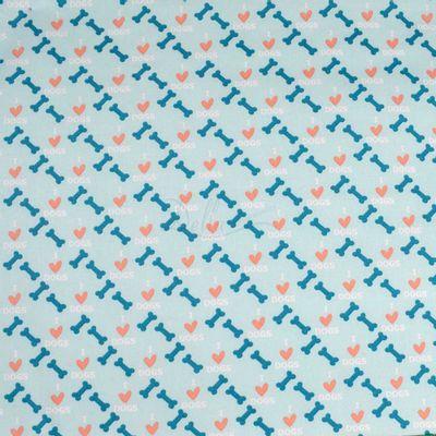 Tecido-Tricoline-Estampado-Infantil-I-Love-My-Dog-Azul-Fabricart-5945