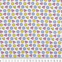Tecido-Tricoline-Estampado-Textura-Diamantes-Tricolores-6124