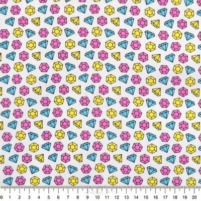 Tecido-Tricoline-Estampado-Textura-Diamantes-Tricolores-6123