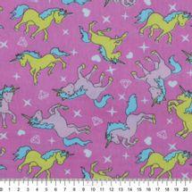 Tecido-Tricoline-Estampado-Infantil-Unicornios-fundo-Pink-6121