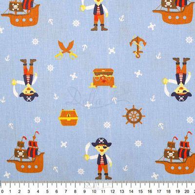 Tecido-Tricoline-Estampado-Infantil-Pirata-Azul-6069