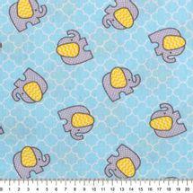 Tecido-Tricoline-Estampado-Infantil-Elefantinho-Cinza-fundo-Azul-6117