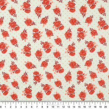 Tecido-Tricoline-Estampado-Floral-Rosas-Salmao-Fundo-Creme-60532