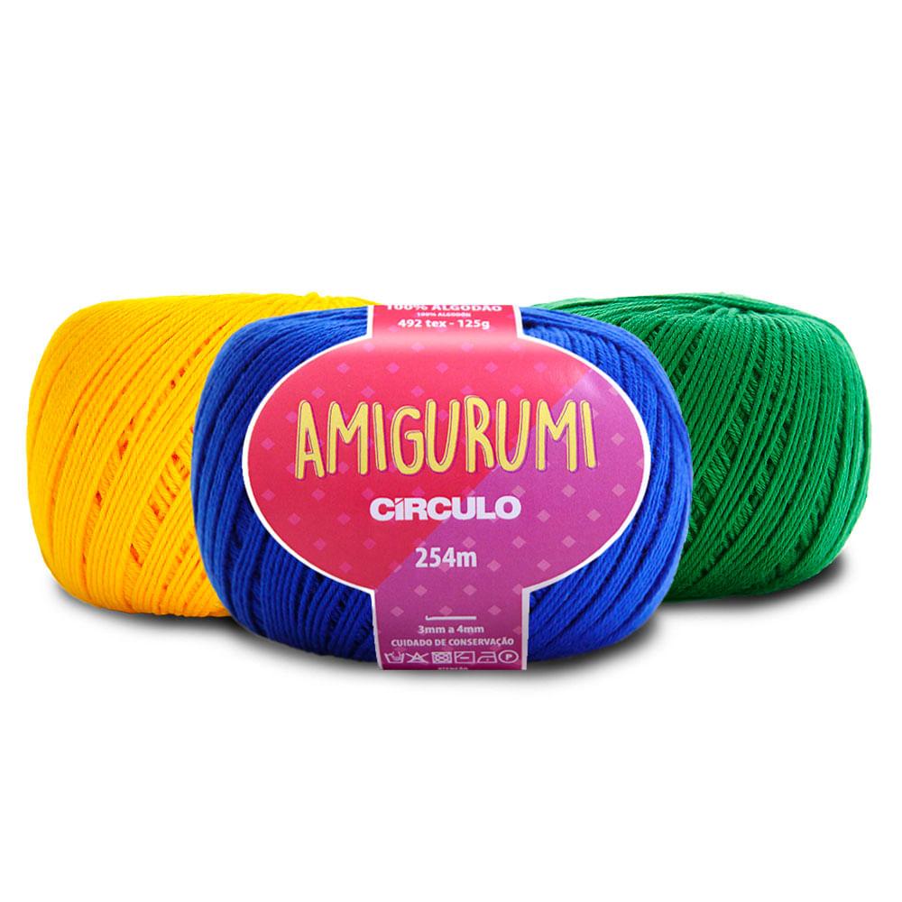 Material para Amigurumi de Crochê - LINHAS - YouTube | 1000x1000