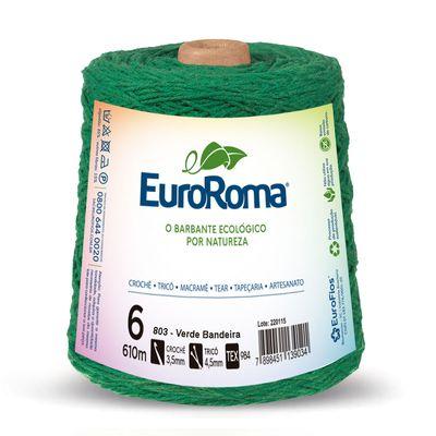Barbante-Colorido-EuroRoma-4-6-Verde-Bandeira