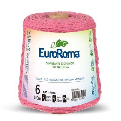 Barbante-Colorido-EuroRoma-4-6-Rosa