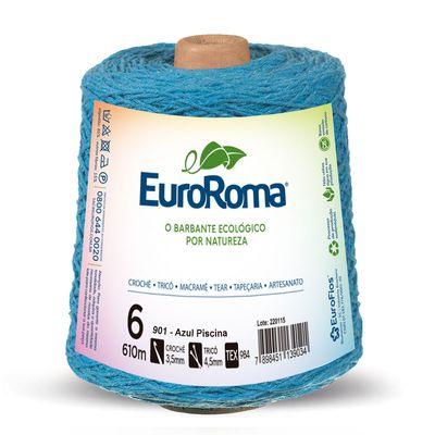 Barbante-Colorido-EuroRoma-4-6-Azul-Piscina