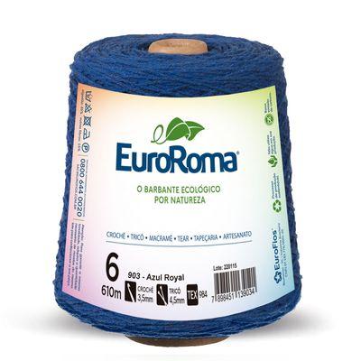 Barbante-Colorido-EuroRoma-4-6-Azul-Royal