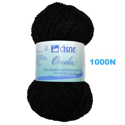 Fio-Onda-Cisne-100g-Preto-1000n