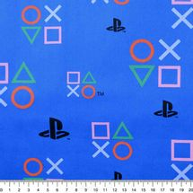 Tecido-Tricoline-Colecao-Playstation-Symbols-f--Azul-