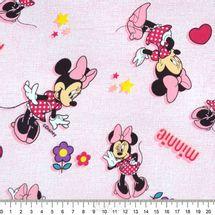 Tecido-Tricoline-Estampado-Colecao-Disney-Minie-