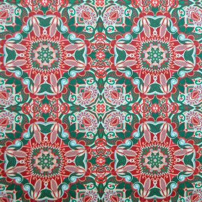Tecido-Tricoline-Estampado-Textura-Arandela