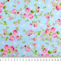 Tecido-Tricoline-Estampado-Floral-