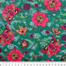 Tecido-Tricoline-Estampado-Floral