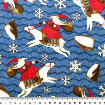 Tecido-Tricoline-Natal-Artic-Snow