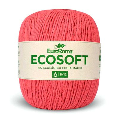 Barbante-Ecosoft-Euroroma-Cor-1070-Melancia