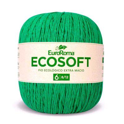Barbante-Ecosoft-Euroroma-Cor-803-Verde-Bandeira