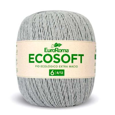 Barbante-Ecosoft-Euroroma-Cor-270-Cinza