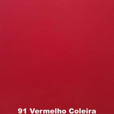Feltro-Liso-Feltycril-Santa-Fe-Cor-91-Vermelho-Coleira