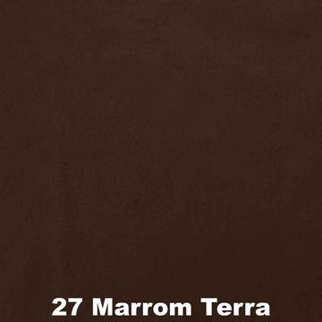 Feltro-Liso-Feltycril-Santa-Fe-Cor-27-Marrom-Terra-Della-Aviamentos