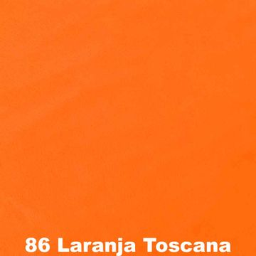 Feltro-Liso-Feltycril-Santa-Fe-Cor-86-Laranja-Toscana-Della-Aviamentos