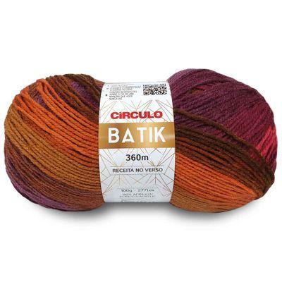 La-Batik-Circulo-100g-Cor-9306-Caqui-Della-Aviamentos