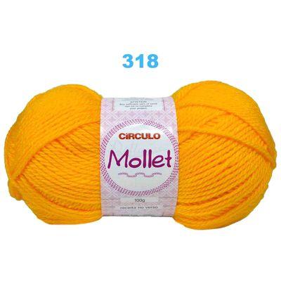 La-Mollet-Circulo-100g-Cor-318-Amarelo-Della-aviamentos