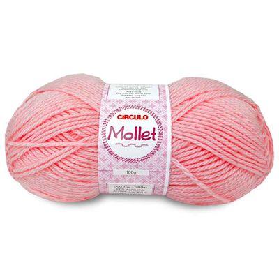 La-Fio-Mollet-Circulo-100g-cor-0769-Rosa-Medio-Della-Aviamentos