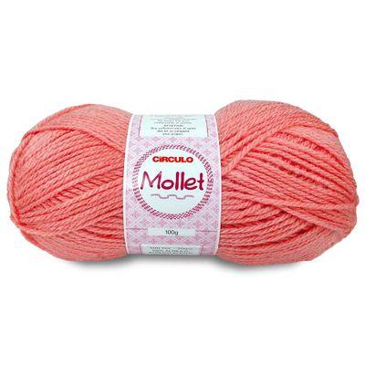 La-Fio-Mollet-Circulo-100g-cor-3128-Rosa-Envelhecido-Della-Aviamentos