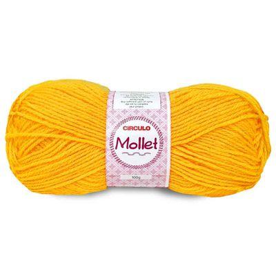 La-Fio-Mollet-Circulo-100g-Cor-1289-Amarelo-Ouro-Della-Aviamentos
