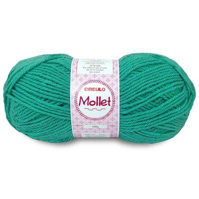 La-Fio-Mollet-Circulo-100g-cor-5556-Verde-Tiffany-Della-Aviamentos