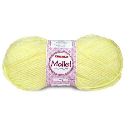 La-Fio-Mollet-Circulo-100g-Cor-325-Amarelo-Claro-Della-Aviamentos