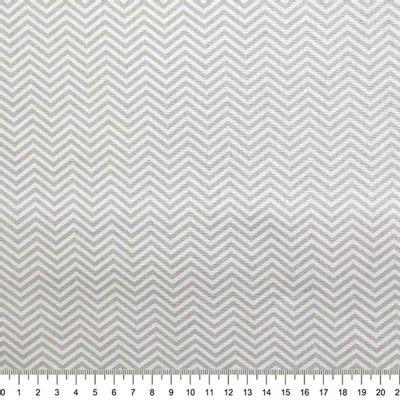 Tecido-Tricoline-Estampado-Textura-Chevron-Cinza-Branco-Della-Aviamentos.