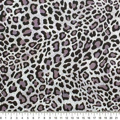 Tecido-Tricoline-Estampado-Textura-Onca-Cinza-Della-Aviamentos.