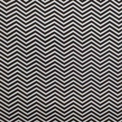 Tecido-Tricoline-Estampado-Textura-Chevron-Pretol-Cinza-Della-Aviamentos