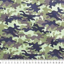 Tecido-Tricoline-Estampado-Textura-Camuflado-Verde-Preto-Della-Aviamentos.