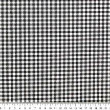 Tecido-Tricoline-Estampado-Textura-Xadrez-Branco-Preto-Della-Aviamentos..