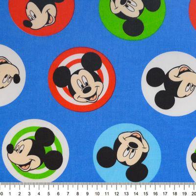 Tecido-Tricoline-Colecao-Disney-Mickey-Buttons-Fundo-Azul-Della-Aviamentos.